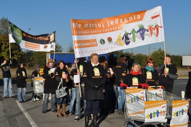 Łódzki strajk żywności