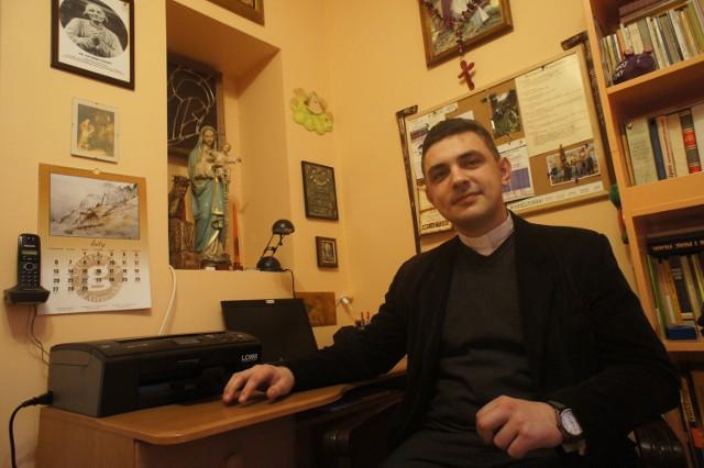 Ks. Grzegorz Dębowski jest ofiarą złodziei