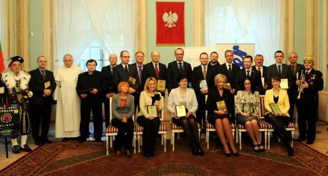 Gala finałowa plebiscytu Człowiek Roku 2011