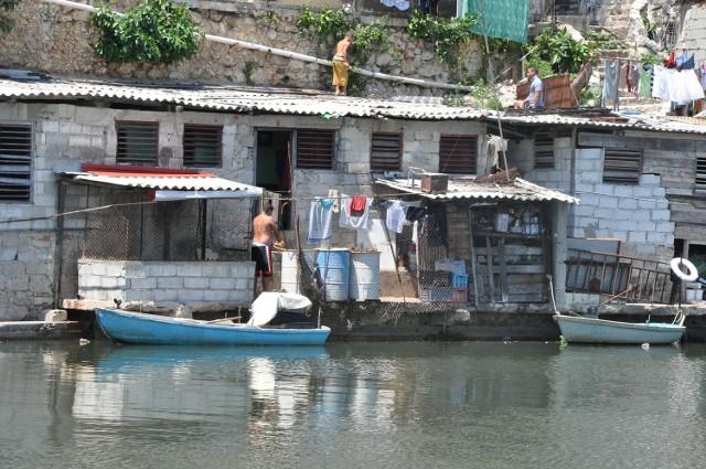 El Fanguito - jedna z najbiedniejszych dzielnic Hawany