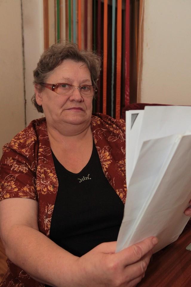 Stanisława Zajdler czaka na decyzję rzeczoznawcy