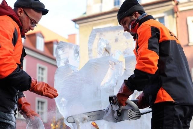 VI Międzynarodowy Festiwal Rzeźby Lodowej w Poznaniu