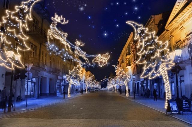 Tak miała wyglądać nowa dekoracja ulicy Piotrkowskiej