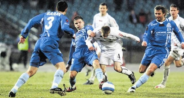 W marcu 2008 r. Ruch zagrał z Górnikiem na Stadionie Śląskim - to były prawdziwe derby