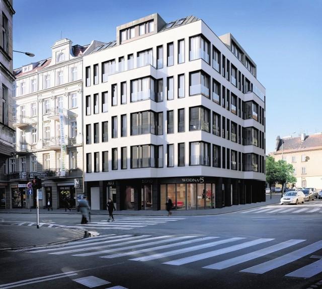Budynek, choć nowoczesny, ma się dobrze wpisywać w otoczenie