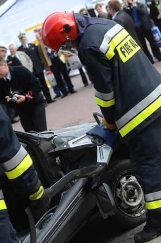 Pokazy wozów i sprzętu strażackiego w Poznaniu