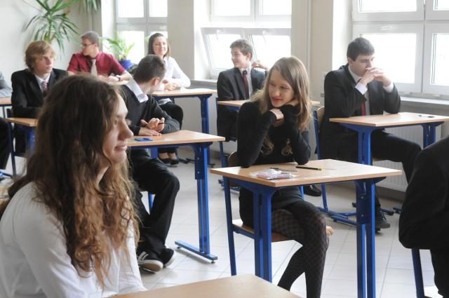 Egzamin gimnazjalny w Gimnazjum nr 3 w Lublinie