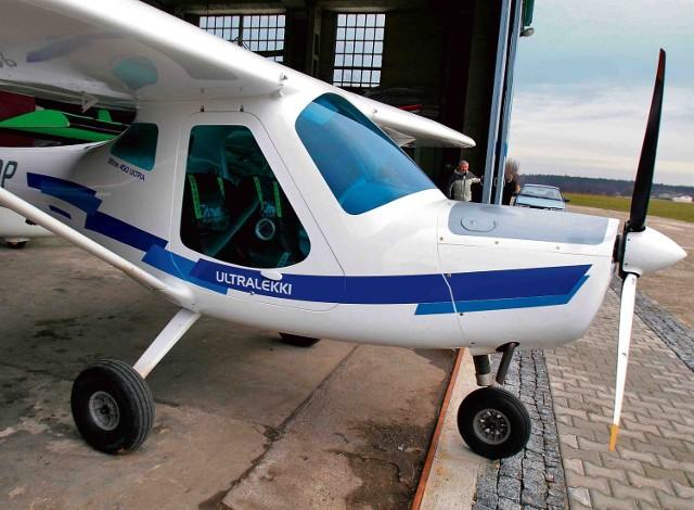 Na razie lotnisko w Rybniku obsługuje małe samoloty