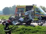 Kalisz: 28-letnia kobieta zginęła w wypadku. Obwodnica Nowych Skalmierzyc zablokowana