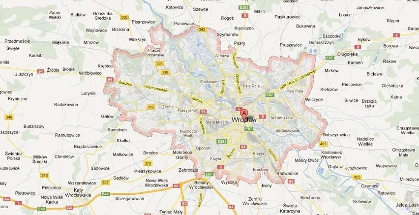 Mapy Google Wciaz Bez Obwodnicy Wroclawia Gazeta Wroclawska