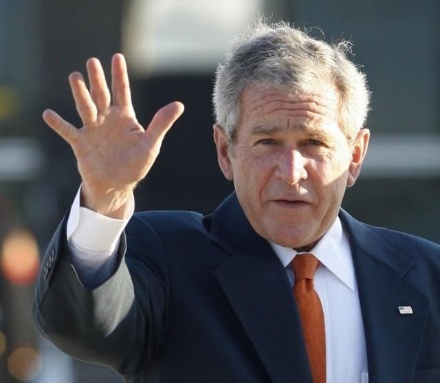 George Bush rozpoczął dziewięciodniową podróż po Europie zachodniej