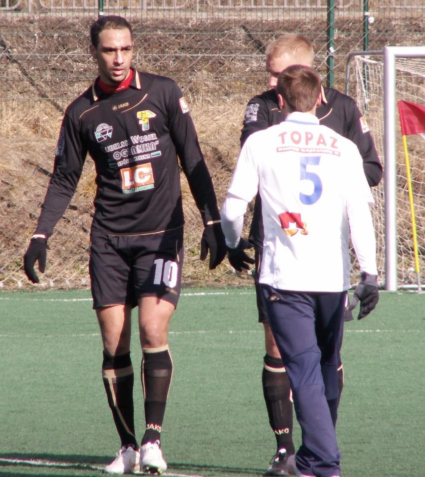 El Mehdi Sidqy zagrał w spotkaniu kontrolnym z Pogonią Siedlce 2:0