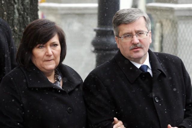 Prezydent Bronisław Komorowski z żoną odwiedzą Lubelszczyznę