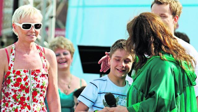 Bartek Martynów zwyciężył w kategorii dzieci
