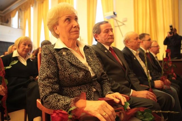 Radni odznaczyli zasłużonych dla miasta Łodzi