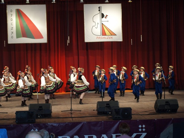 Mały Lublin I w nagrodzonych na festiwalu tańcach lubelskich