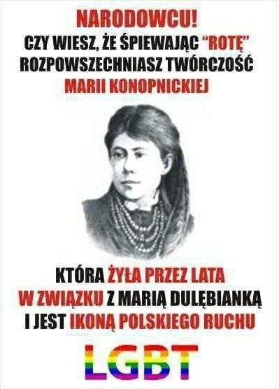 Pierwszy mem z Marią Konopnicką - zobacz też obrazkowe odpowiedzi internautów w naszej galerii --->