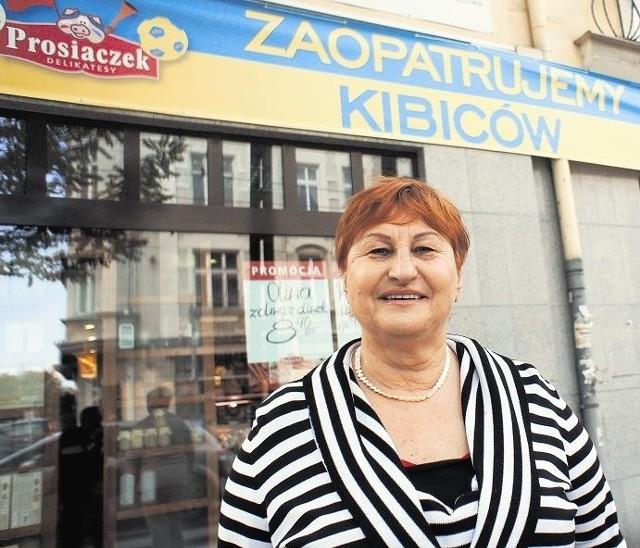 Halina Olszewska, właścicielka Prosiaczka, zapowiada obniżkę cen, degustacje i promocje