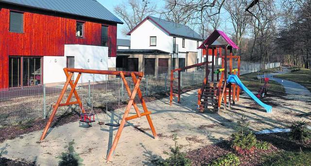 Osiedle w Koninku to nie tylko szeregowce, ale i też plac zabaw dla najmłodszych