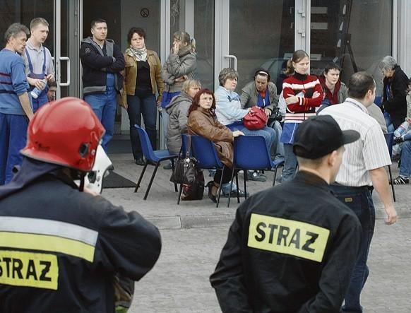Wszyscy pracownicy z zakładu przy ulicy Technicznej zostali ewakuowani natychmiast po eksplozji