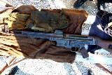 Niemiecka broń znaleziona przy Tymienieckiego w Łodzi [ZDJĘCIA+FILM]