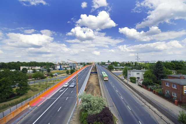 Przebudowa wjazdowej nitki wiaduktu Górczyńskiego powinna rozpocząć się w lipcu