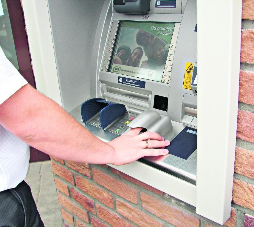 Bankomat biometryczny w Trąbkach Wielkich