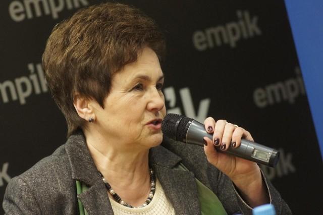 Danuta Wałęsa promowała w poniedziałek w Poznaniu swoją książkę