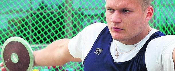 Przemysław Czajkowski (AZS AWF Biała Podlaska) wygrał konkurs rzutu dyskiem