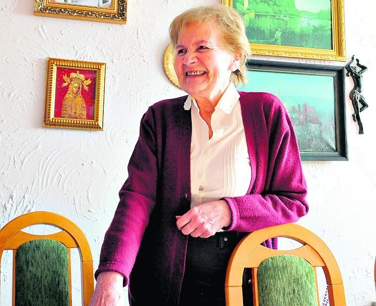 Janina Łucja Leszczyńska działa w Związku Sybiraków