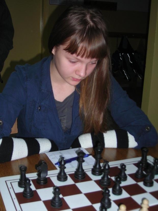 Weronika Frączek (Start Lublin) nie miała sobie równych w lubelskim turnieju - Szach Królowi