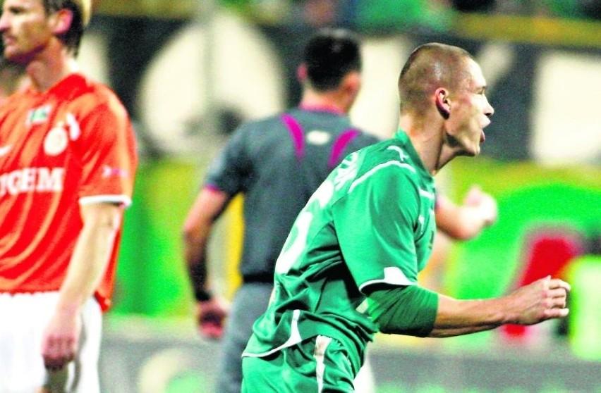 W derbach Przemysław Kaźmierczak zdobył gola i popisał się doskonałą asystą