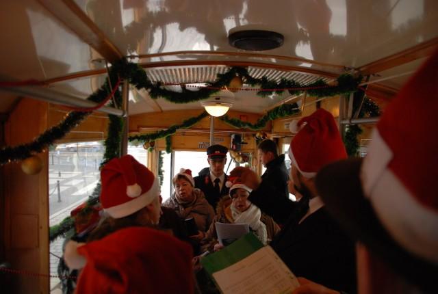 Chór Akademii śpiewał między innymi w poznańskiej świątecznej bimbie