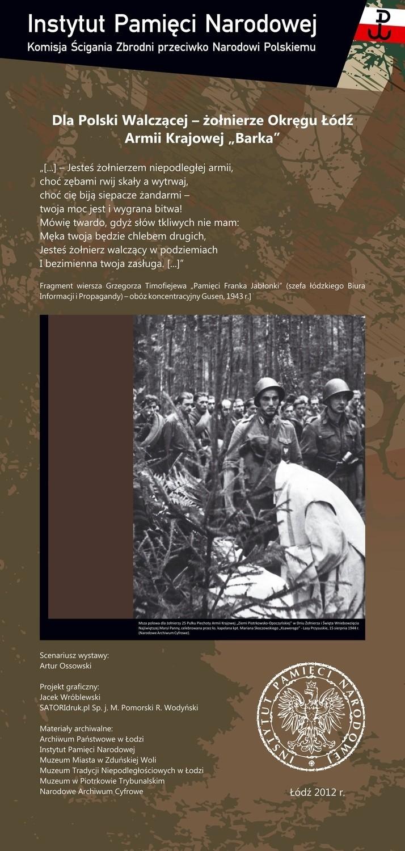 Konferencja naukowa i wystawa poświęcona żołnierzom łódzkiego okręgu Armii Krajowej upamiętnia 70-tą rocznice powstania AK.