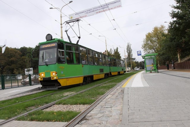 Torowisko na ulicy Winogrady już przejął Zarząd Transportu Miejskiego