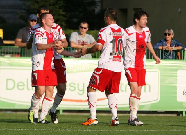 Marek Saganowski zdobył gola w Lubinie