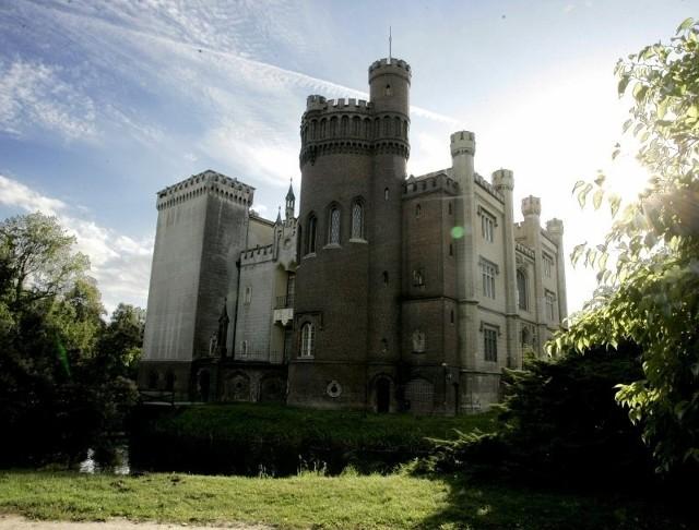 Zamek i park w Kórniku.