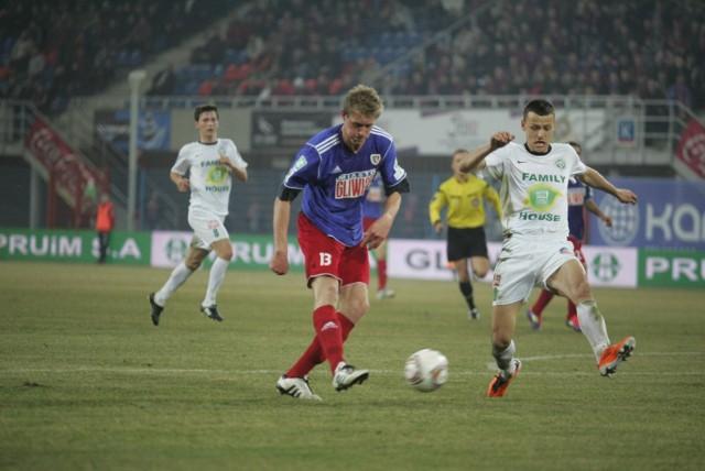 Piłkarze Warty muszą się podnieść po porażce w Gliwicach