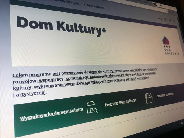 GOK Chrzypsko Wielkie w programie Dom Kultury +