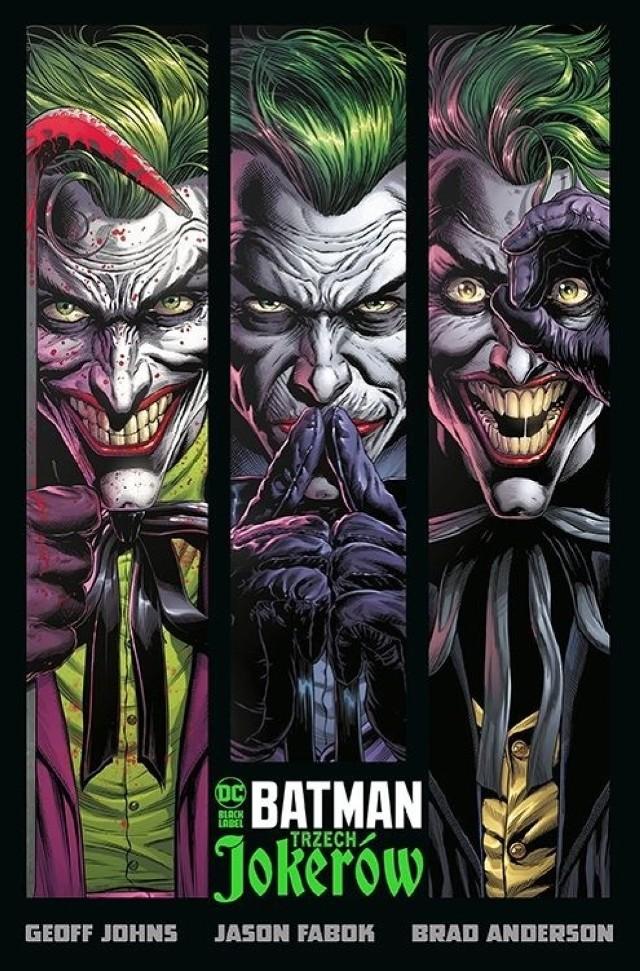 """""""Batman. Trzech Jokerów"""""""