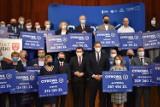 W Olkuszu odbyła się konferencja dotycząca programu Cyfrowa Gmina. Samorządy otrzymały promesy! [ZDJECIA]