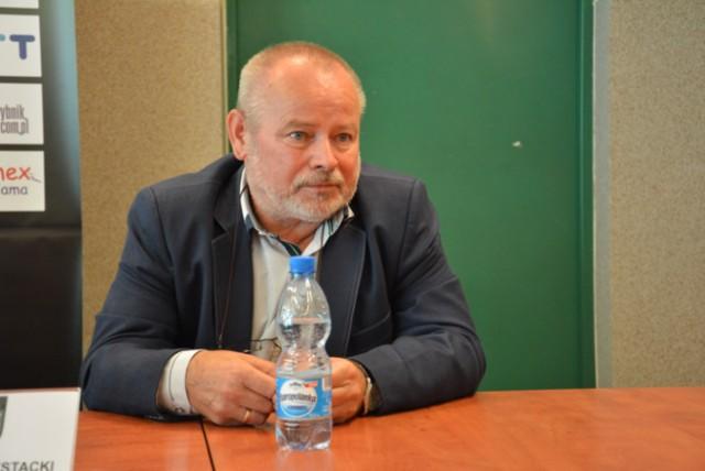 Henryk Frystacki od 2015 roku pełni funkcję prezesa II-ligowej drużyny, zastąpił na tym stanowisku Grzegorza Janika.