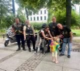 Motocykliści bawili się z dziećmi. W Radomiu w Parku Kościuszki odbył się wielki piknik rodzinny