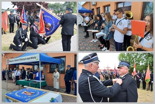 Jubileusz 100-lecia Ochotniczej Straży Pożarnej w Michałkowie, gmina Dobrzyń nad Wisłą, 3 lipca 2021 roku.