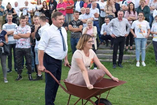 Sołectwo Białokoszyce zaprosiło w sobotę 11 września na Dożynki Gminne i Parafialne parafii Chrzypsko Wielkie (11.09.2021)