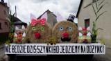 Słomiane dekoracje dożynkowe. Nądna 2018, Strzyżewo 2015, Łomnica 2017 [Zdjęcia]