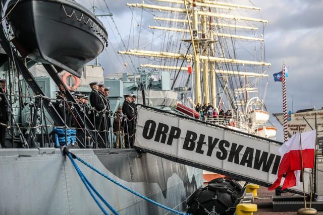 Przysięga wojskowa elewów w Gdyni
