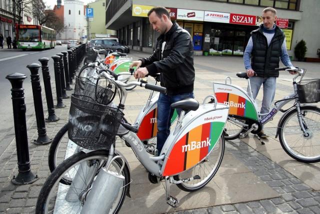 Wypożyczalnie rowerów - jeden z 57 zwycięskich projektów w budżetach obywatelskich 2015 i 2016 r.