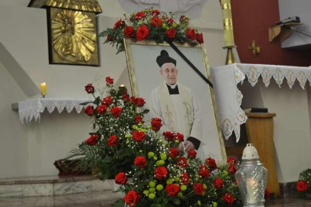 Pogrzeb księdza kanonika Idziego Lijewskiego