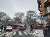 Ruch Tramwajów w Katowicach był zablokowany przez jednego człowieka, a dokładniej jego samochód. Zakorkowało się centrum Katowic
